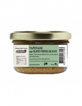 Tapenade from local green olives 90g